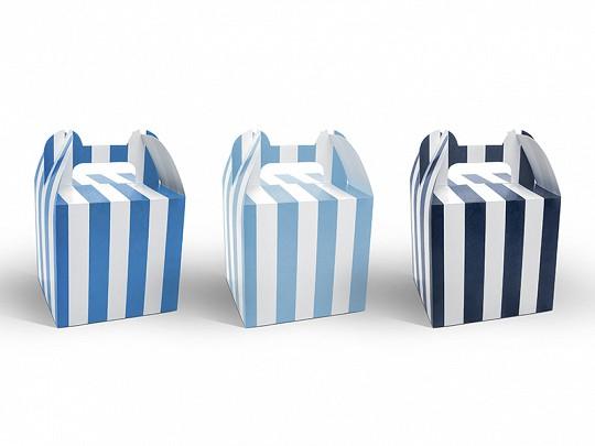 Candybarbox Blau-Weiß
