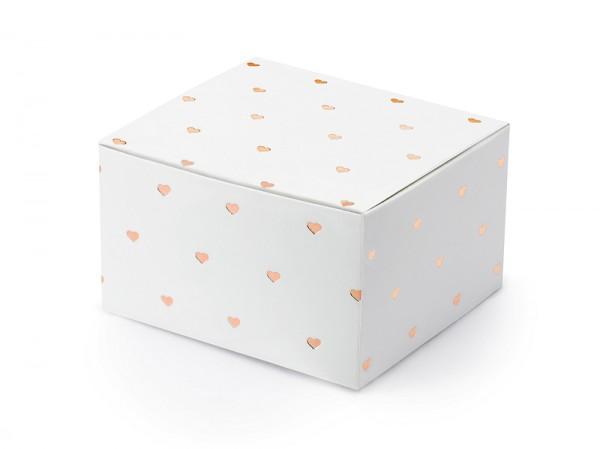 Gastgeschenkbox Herzen