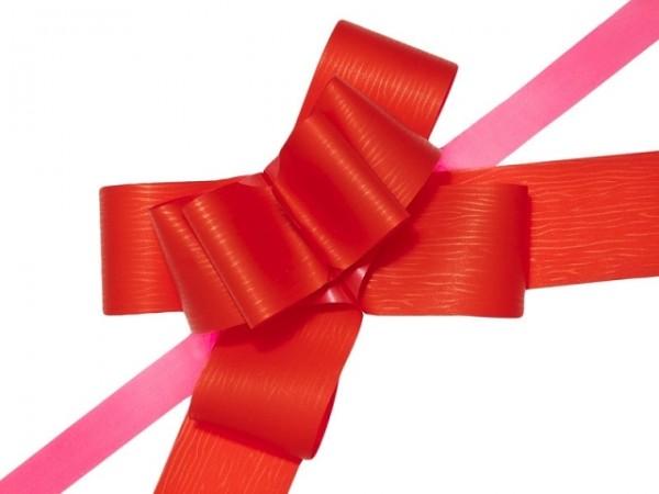 Papiermasche zum Ziehen - 1 cm Rot