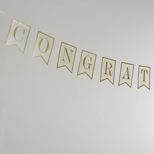 Banner Congratulations - Gold