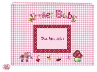 Fotoalbum Unser Baby Rosa