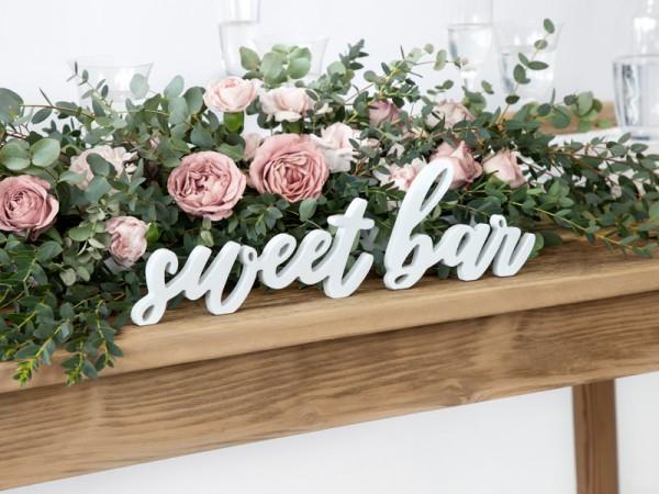 Aufsteller Schild Deko Sweet Bar