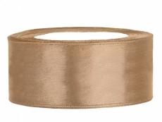 Satinband 25mm Gold