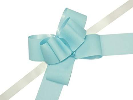 Papiermasche zum Ziehen - 5 cm Hellblau