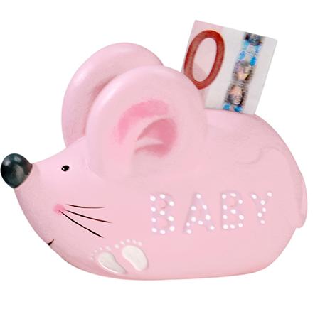 Sparschwein Maus Mädchen