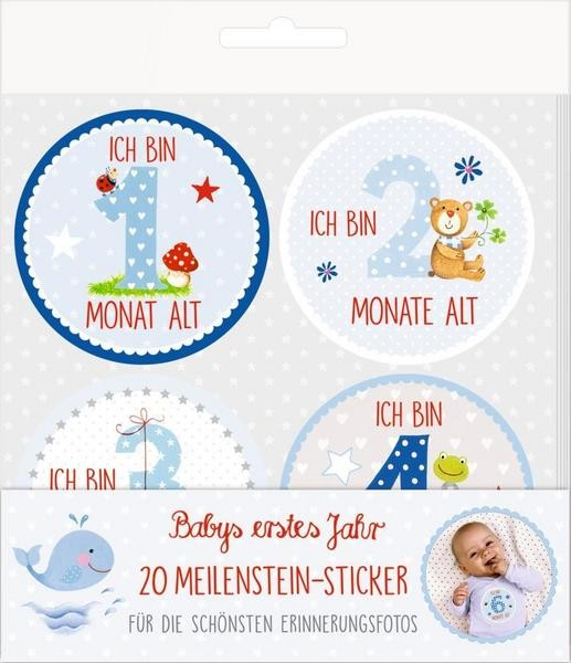 Meilenstein-Sticker Babyboy