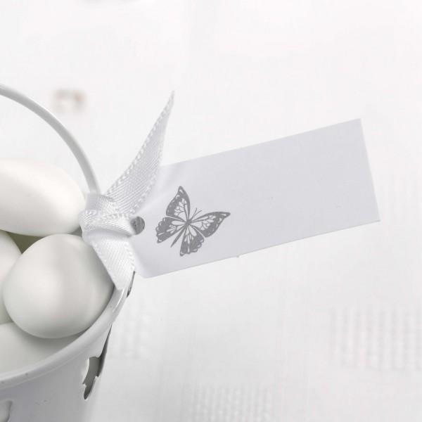 Anhänger Schmetterling Weiß