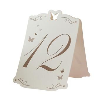 Tischnummer Butterfly1