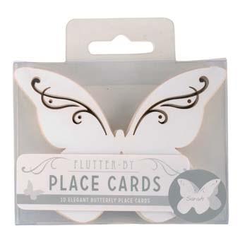 Tischkarte Butterfly
