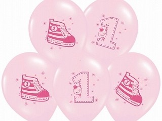 Luftballlon Nr. 1 Rosa