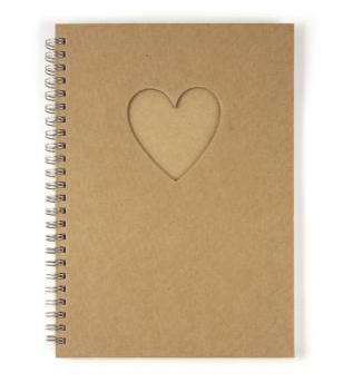 Notizbuch Herz