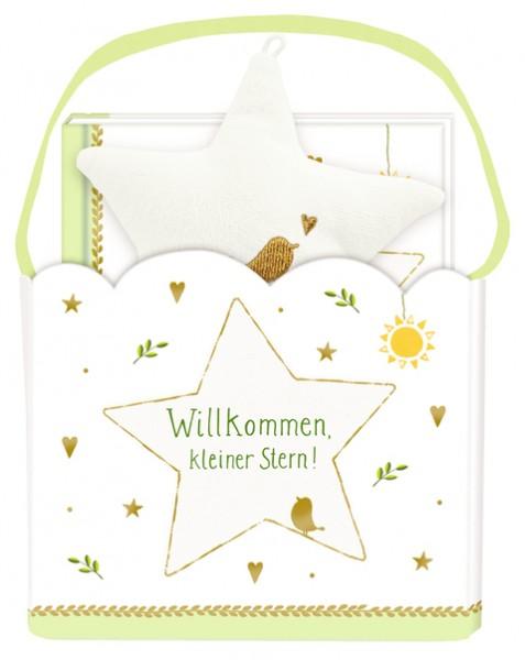 Geschenkset Willkommen kleiner Stern