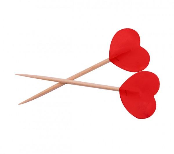 Cupcake Sticks Herz