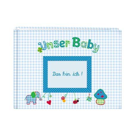 Fotoalbum Unser Baby Blau