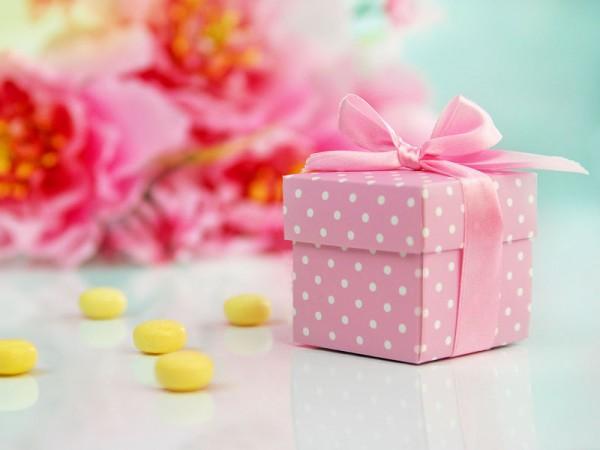 Geschenkbox Rosa
