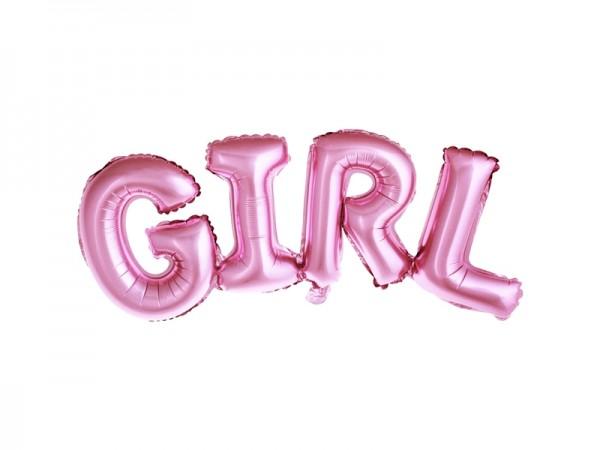 Folienballon Girl