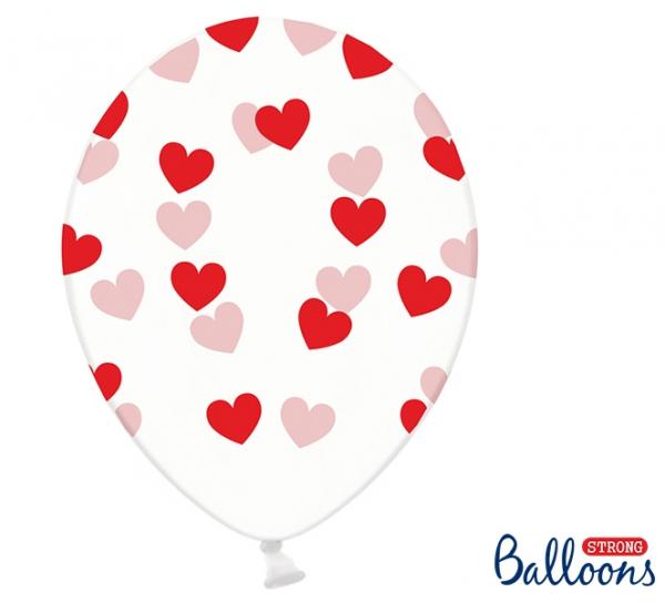 Luftballon Rote Herzen