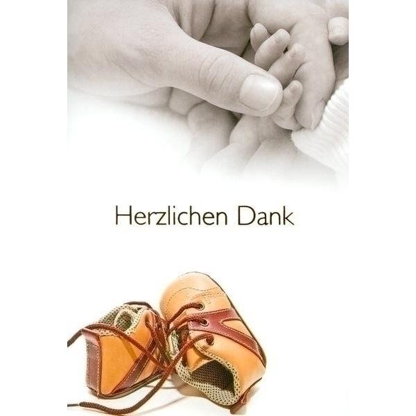 Dankeskarte Baby