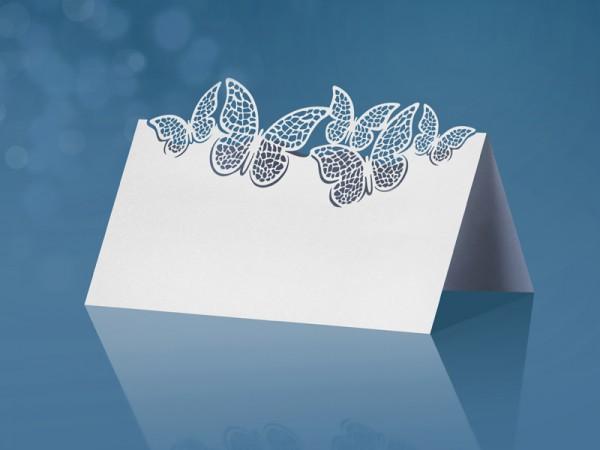Tischkarte Butterflies