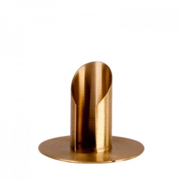 Taufkerzenhalter Gold