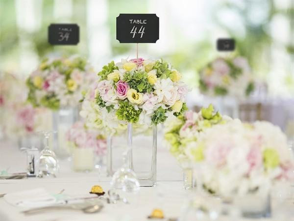 Tischnummer Tafel Simple1