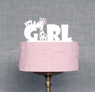Tortendeko It's a girl