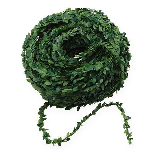 Buchsgirlande Grün