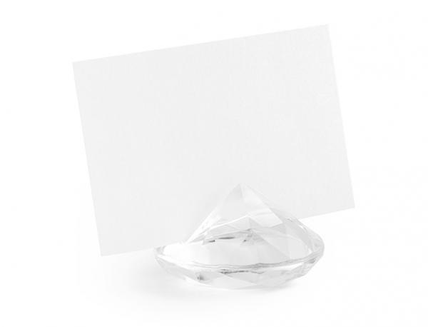 Tischkartenhalter Diamant