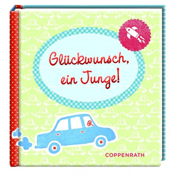 Buch Glückwunsch Bub